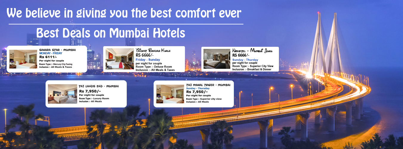 Best offers on hotels in Mumbai