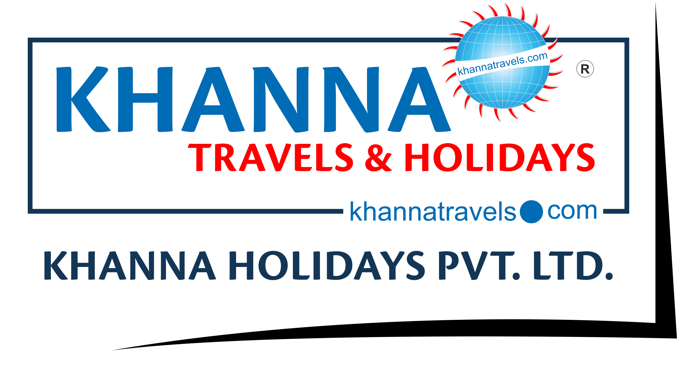 khanna Travels Logo